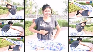 3 Super Simple Exercises for Flat Stomach At Home | How to Reduce Belly Fat?