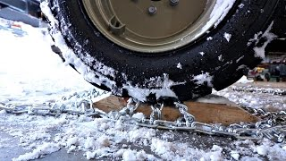 Amazing Snow Chain Hack FOR THIS WINTER