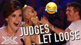 Judges' FAVOURITE FUN X Factor Auditions | X Factor Global