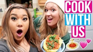 COOKING WITH REMI & ALISHA!! Vlogmas Day 2!