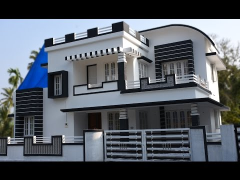 Athani, 5 cents plot and 1700 sq ft, contemporary house for sale in Athani, Aluva near CIAL