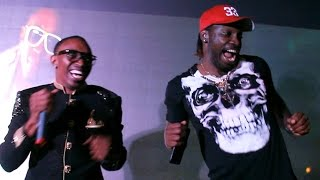 Dwayne Bravo & Chris Gayle At DJ Bravo Champion Video Song Launch