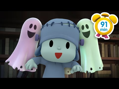 😱 POCOYO in ENGLISH The Haunted House 91 min Full Episodes VIDEOS and CARTOONS FOR KIDS