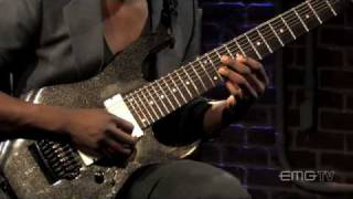 Animals as Leaders, Tosin Abasi plays