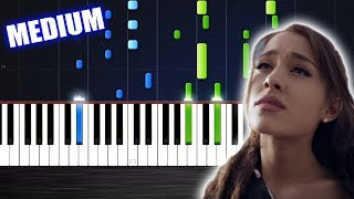 Ariana Grande - One Last Time - Piano Cover/Tutorial by PlutaX - Synthesia