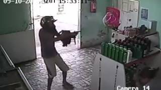 Brazilian Gang Member Tries To Kill Rival Gang Member
