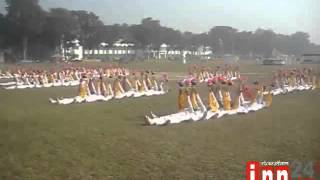 Jhenidah Cadet College Annoul Sports Footage 17 12 13