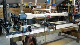 Lathe Using Router