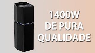 Review Torre de Som Panasonic SC-UA7LB-K 1400W [PT] [BR]