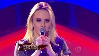 عندما تجتمع صوت و صورة (فتاة جميلة) في ذا فويس البرازيل