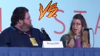 Anita Sarkeesian Yells at Boogie 2988 Backstage and Polygon Portrays Her as Heroic