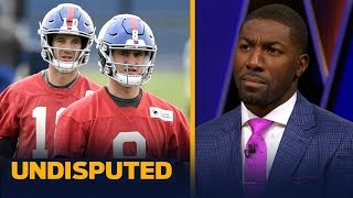 Eli gives Giants time to develop Daniel Jones, there's no QB dispute — Jennings | NFL | UNDISPUTED