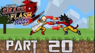 SSF2 MODS PART 20 One Punch Man,Fire Sonic,Mega Man x,SSJ4