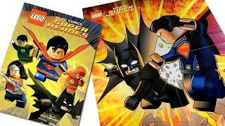 LEGO® DC Super Heroes Justice League Comic Book w/ Free Batman v Superman Poster