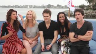 The Vampire Diaries Cast Funny&Cute Moments