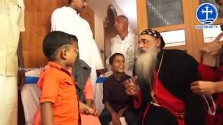 H.H.Catholicos visited Anugrah and Fatima Bismi