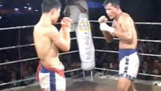 Myanmar lethwei, Lone Chaw vs Zan Too, 2/2