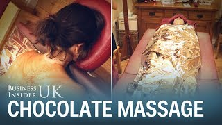 Chocolate massages are actual beauty treatments – this is what it's like to get a 'full body wrap'