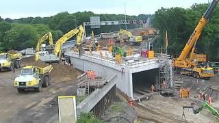20-5-2016 Timelapse A12 70 meter tunnel in one weekend under highway!!