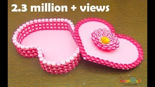 Quilling gift box ideas | DIY heart for valentine |handmade | Magic Quill