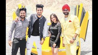 Tere Bin Kive (Making) RamJi Gulati, Mr Faisu & Jannat Zubair, BTS Dubai | Celebistaan - Pratik Gaur