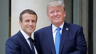 WATCH: President Trump Joint Press Conference with President of France Emmanuel Macron