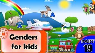 Genders for kids | Gender | Explaining Gender to Children | Definition of Gender Identity