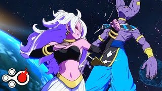 Android 21 All Move Steals - Dragon Ball FighterZ