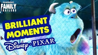 Brilliant Moments from Disney Pixar Animated Movies