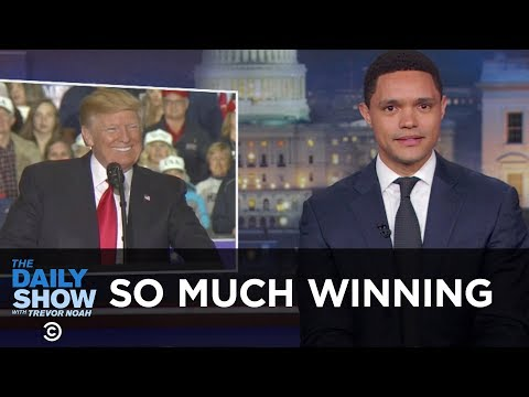 So Much Winning The Daily Show