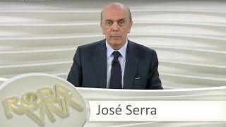 Roda Viva | José Serra | 06/06/2016