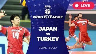 Japan v Turkey - Group 2: 2017 FIVB Volleyball World League