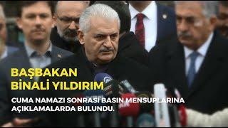 Başbakan Yıldırım, Cuma namazı sonrası basın mensuplarına konuştu - 12.01.2018