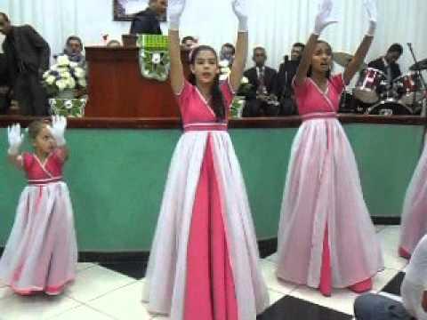 Coreografia A igreja vem Anderson Freire grupo Estrela da Manhã