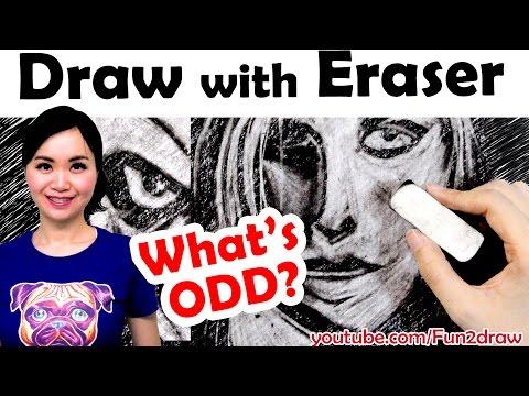 Draw with Eraser Art Challenge