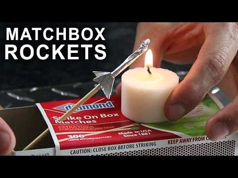 how to make foil wrapping paper and matchstick rocket    पेपर व माचिस से राकेट कैसे बनते हैं घर पर