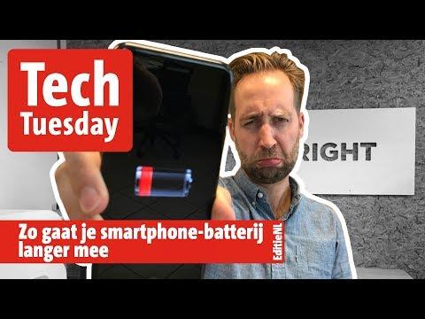 Zo gaat je batterij langer mee - EDITIE NL