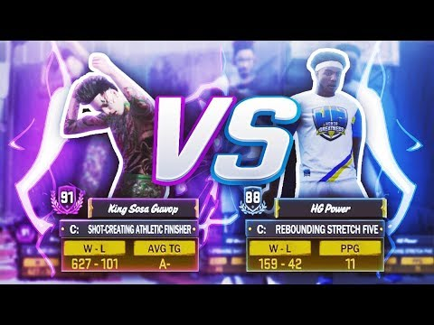 HG Power vs King Sosa Guwop : THE REMATCH FT. 93 OVERALL - NBA 2K18