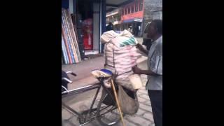 Funny Kenyan Guy Selling Veggies!! Enjoy