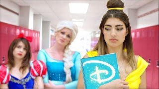 Disney Princess Go Back To School