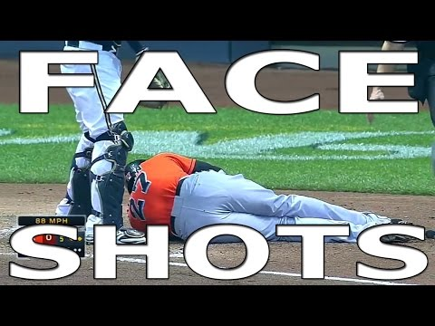 MLB Face Shots