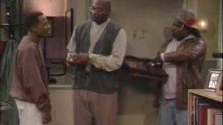 TRACY MORGAN aka HUSTLE MAN MEETS MARTIN FOR THE 1ST TIME