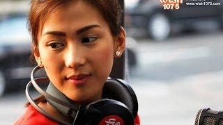 Alex Gonzaga  - Panaginip Lang (LIVE) on Wish FM 107.5 Bus HD