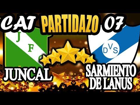Partidazo Juncal F.C. vs Sarmiento de Lanus Cat 07