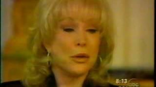 Barbara Eden breaks down crying on talk show (very sad clip)