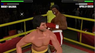 Rocky Balboa - PSP (PPSSPP) Rocky Balboa vs Apollo Creed 2 - Historical Fight