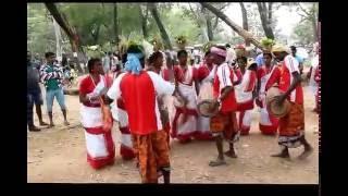 Santal Dance In Santiniketan