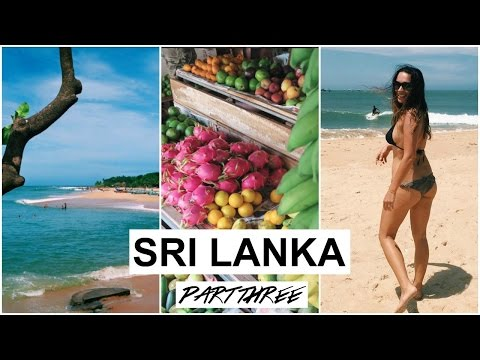 DIET UPDATE + BEACH TIME | SRI LANKA #3