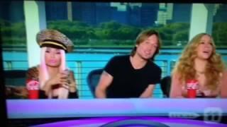 Nicki Minaj and Mariah Carey Fighting