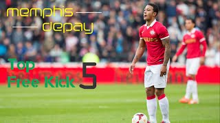 Memphis Depay - Amazing Free Kick Goal | Welcome to Manchester United